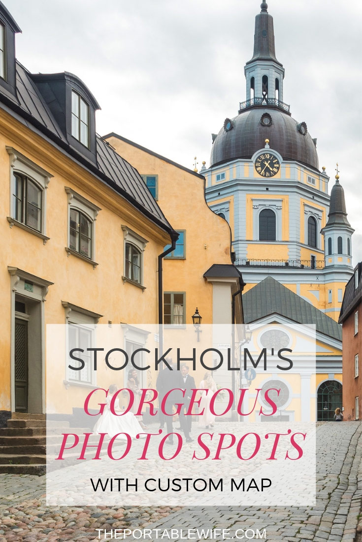 Gorgeous Stockholm Photo Spots With Custom Map