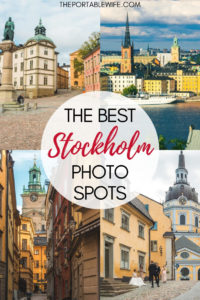 The Best Stockholm Photo Spots