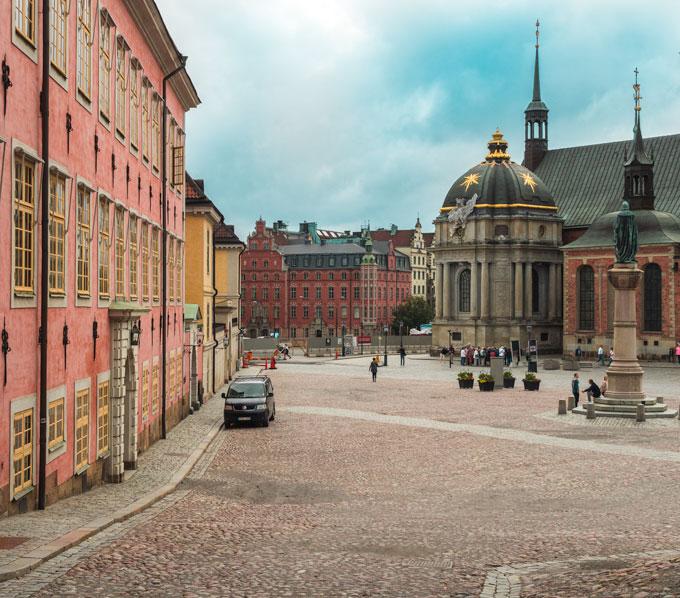 Stockholm Riddarholmen Church