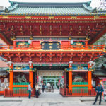 Kanda Myojin shrine gate, a stop during 2 days in Tokyo