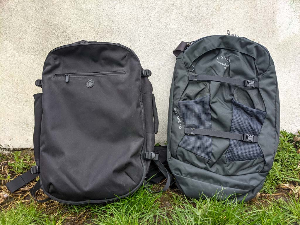 Tortuga Setout vs Osprey Farpoint: A Hands-on Review