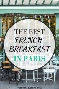 The Best Typical French Breakfast in Paris