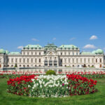 Vienna Itinerary: 2 Days of Highlights and Hidden Gems - Belvedere Palace with tulips