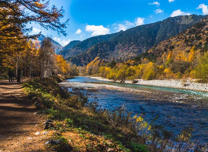 Kamikochi Park, one of the best things to do in Nagano Japan