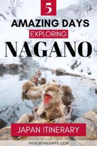 What to do in Nagano: 5 Days in Nagano Japan