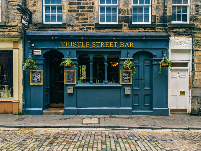 Where To Eat In Edinburgh On Your First Visit The Portable